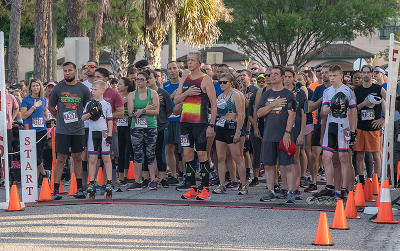 Kimberlys Center for Child Protection 5K Race Against Child Abuse Annual National Anthem.