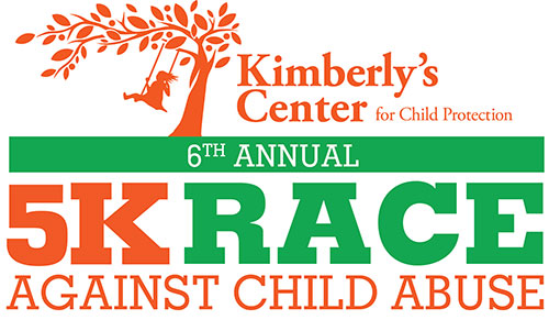 Kimberlys Center for Child Protection 5K Race Against Child Abuse Annual Logo.